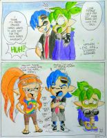 Splat comic short: Nathans new look pg. 2 of 2 by Squidtoonist