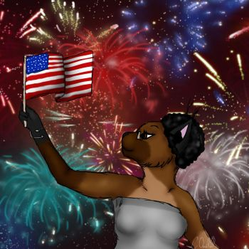 Happy Fourth! by ChocolateQuill