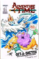 Adventure Time Sketch Cover by theFranchize