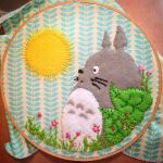 Totoro by caffeinese