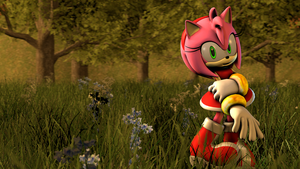 Pink Grasses by Legoguy9875