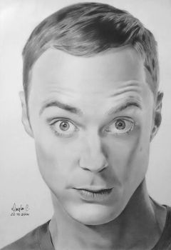 Sheldon Cooper - Jim Parsons by doguinha