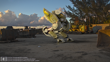 Compositing Unit 01 Garbage Dump Backplate by CatalanoMedia