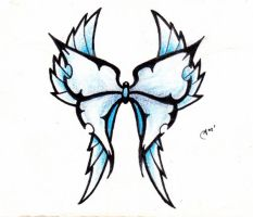 Original Butterfly Design by Ashes360