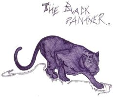 The black panther by JuLaIa