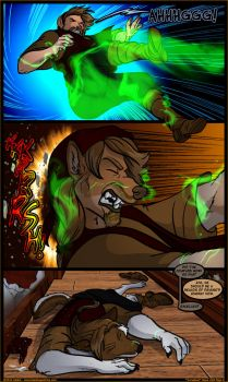Black Tapestries Issue 20 Page 8 by JakkalWolf