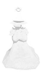 MMD Wedding Dress DL by mbarnesMMD