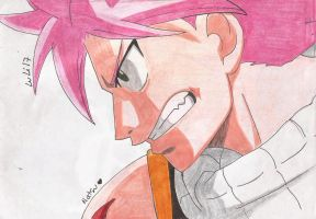 Fairy Tail - Natsu - Color by kitty-moonlight