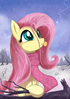 First Snow by FidzFox