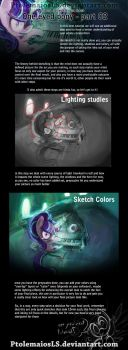 OEP tutorial 02 Lighting studies and color sketch by PtolemaiosLS