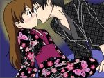 KyoyaXHaruhi-Quick Kiss by SisterStories