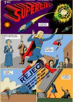 What if... Supergirl was invented before Superman by Nick-Perks