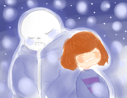 Frisk And Sans by a-batch-of-bread