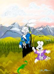 UY tribute by Rowdydog4444 by Usagi-Yojimbo-club