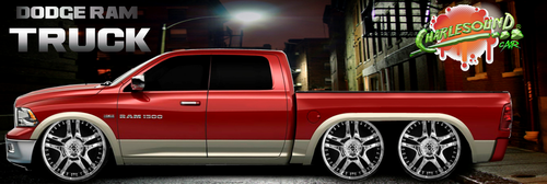Dodge Ram 1500 2012 Truck by CHARLESOUNDcar
