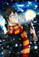Harry Potter XMas by Despairs22