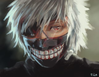 realistic kaneki?? by eggswithbenefits