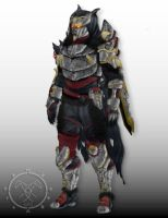 Trials Grimm Master Hunter armor by Hellmaster6492