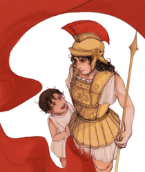 Ancient Greece and Little Roma by fennari