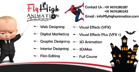 Best-animtion-and-multimedia-training-institute-in by flyhighanimation