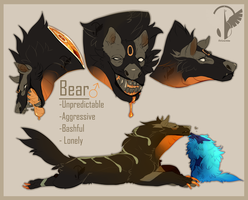 Bear Reference by MrGremble
