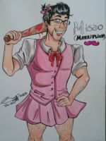 Markiplier as Samanthera by x3Soap3x