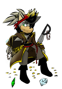 Pirate king by Onyx-silver