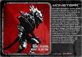 G Unleashed: Monster X by MegaZeo