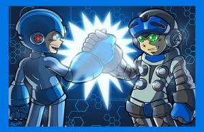 The Blue Bomber Legacy by megachaos