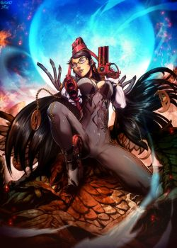 Bayonetta - another one by GENZOMAN