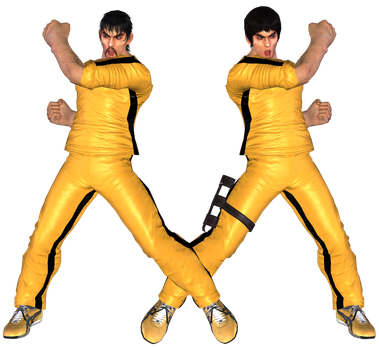 TEKKEN 6 - Marshall Law Yellow - XPS Download by Pedro-Croft