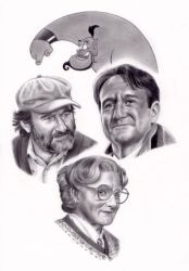Robin Williams Tribute by kad84