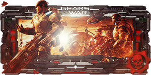 Gears of War Sign by Panico747