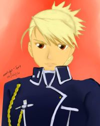 Riza Hawkeye for SuperShanko by moonlight-fox