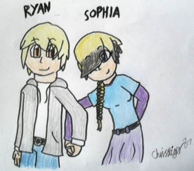 Ryan and Sophia by Chrisstiger