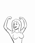 Muscle Growth Animation by darrellsan