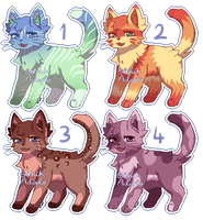 Feline Adopts [ 2/4 OPEN ] by OstrichAdopts