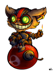Ziggs by AnaPunda