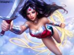 Wonder Woman - ImagineFX by MichelleHoefener