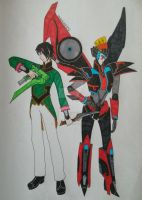 Ren and Windblade by UmbraWolf202
