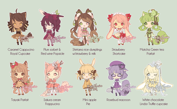 Dessert adopts #2 [Closed] by KokoTensho