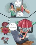 Under My Umbrella (contest entry) by xxxx52