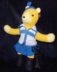 Lucy Bear by AbleSistersFanCrafts