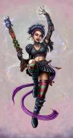 Sorceress by SirTiefling
