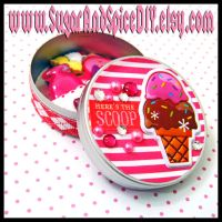 Here's The Scoop Tin by wickedland