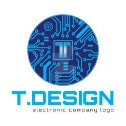 Technology -Electronic - Engineering Logo Template by safa-kadhim