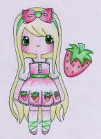 Strawberry by Bee-chii
