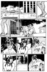Superheroes Can't Fly - Page 2 INKS
