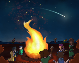 Music by the Fire by MSimple