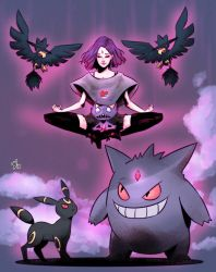 The Gym Leader Raven by watermelonkid